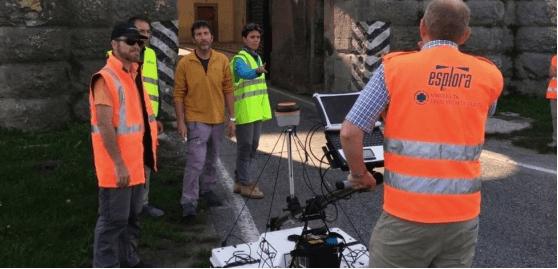 Rilevazioni geofisiche a Palmanova Udine