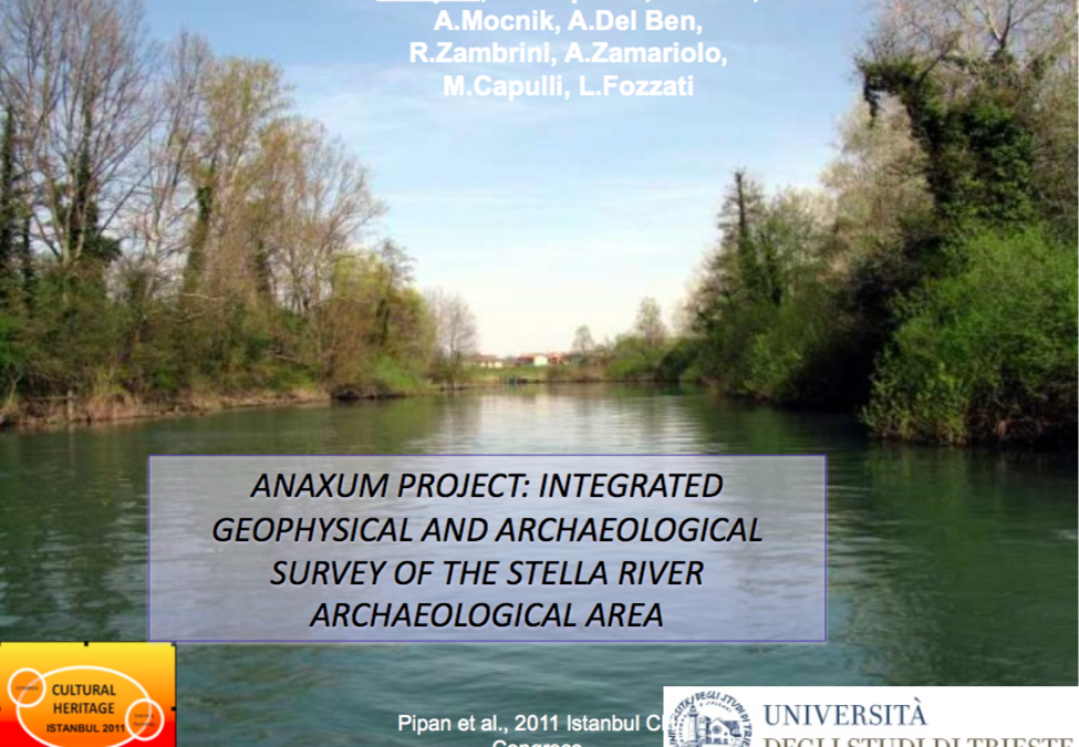 Integrated geophysical and archaeological survey of the Stella river archaeological area